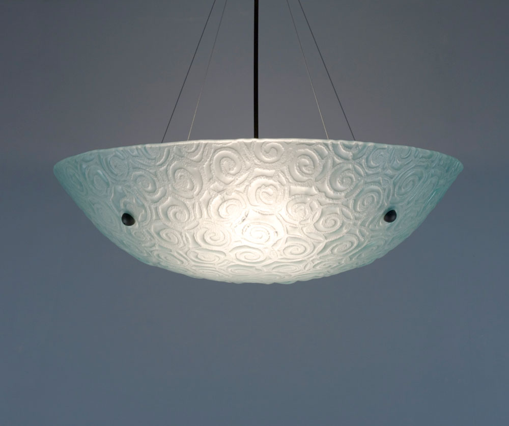 Shown in bronze hardware and Whirlpool texture, Frost glass.