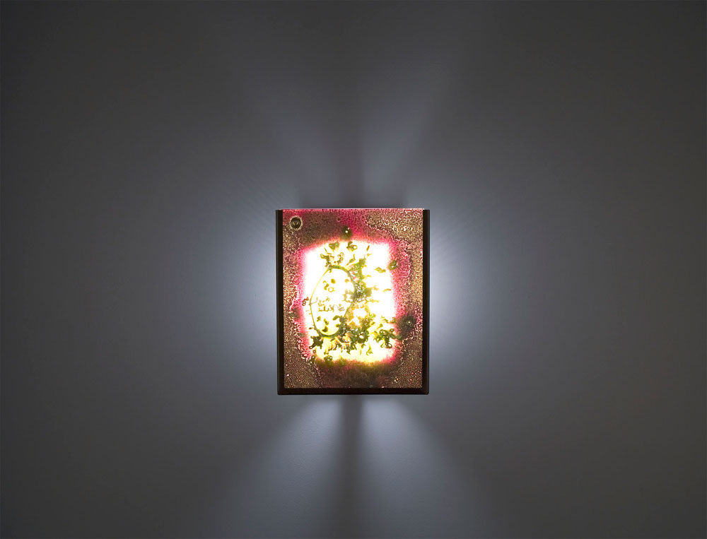 Shown in Bronze with Fuzzy glass selection and light diffuser.